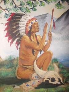 IAmerican ndian Painting by Velda