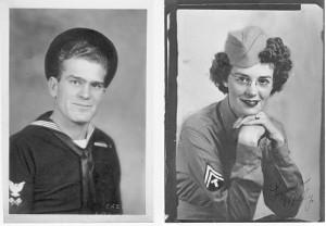 Al & Milly 1944