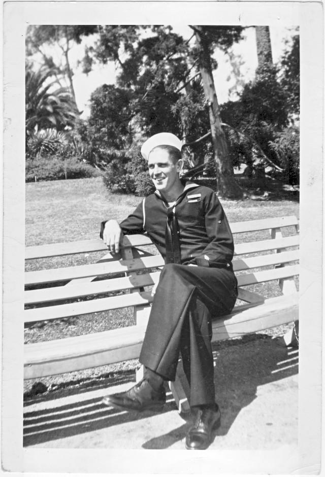 Ray Goodgion Navy 1943-45