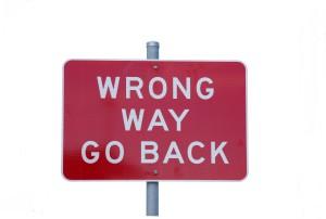 Go Back? Crap.