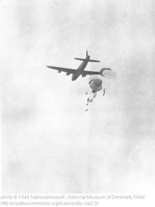 Sky divers