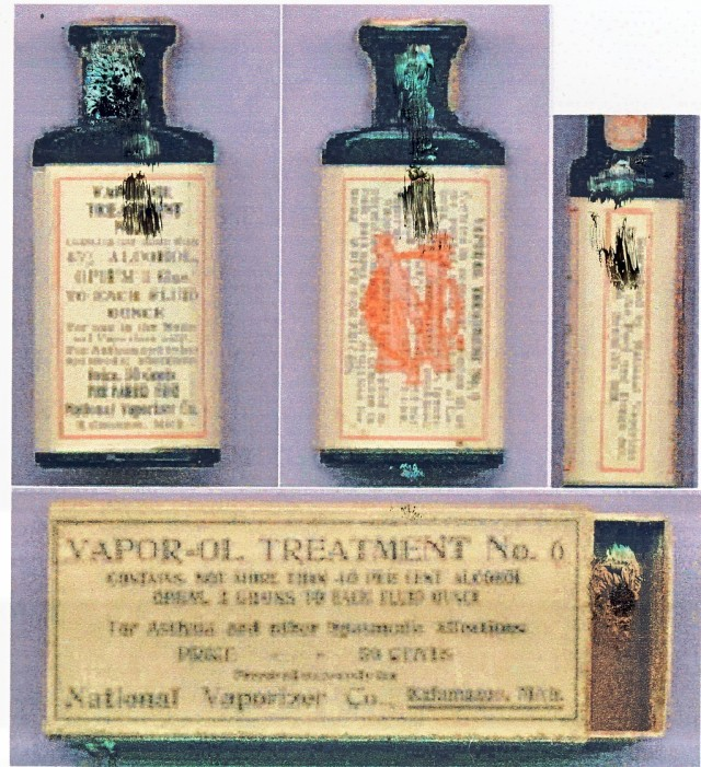 Opium cough syrup