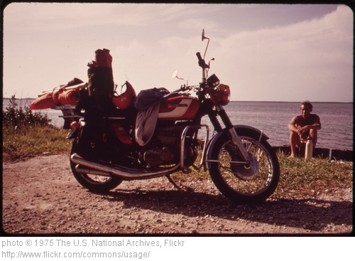 Motorcycle Hippy