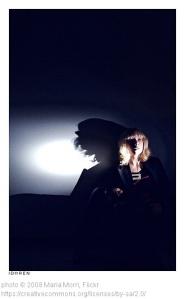 The dark room needed for suspense