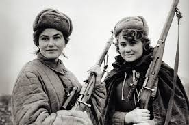 Soviet women WW II