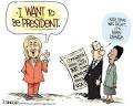 cartoon Clinton